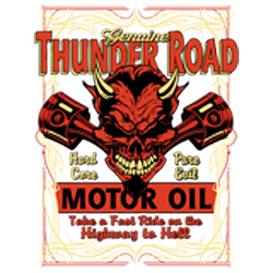 Bikers-Custom : T shirt biker thunder road