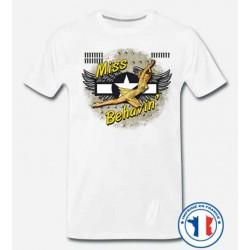 Bikers-Custom : T shirt biker miss behavin