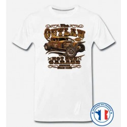 Bikers-Custom : T shirt biker outlaw