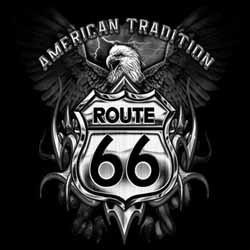 Bikers-Custom : T shirt biker american tradition