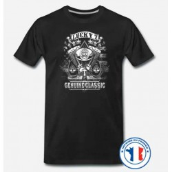 Bikers-Custom : T shirt biker lucky 7