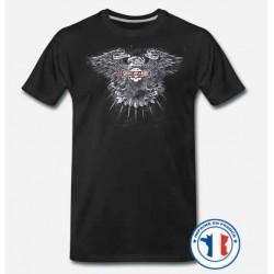 Bikers-Custom : T shirt biker shut up and ride creed