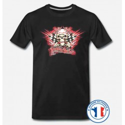 Bikers-Custom : T shirt biker highway outlaw