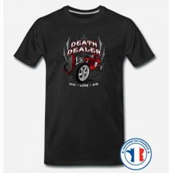 Bikers-Custom : T shirt biker death dealer