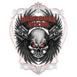 Bikers-Custom : T shirt biker hardcore