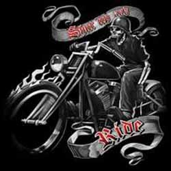 Bikers-Custom : T shirt biker ride free