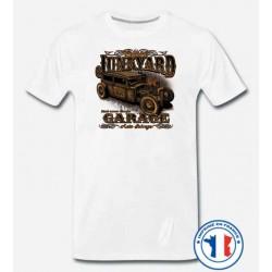 Bikers-Custom : T shirt biker junk yard garage