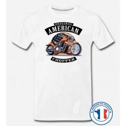 Bikers-Custom : T shirt biker american chopper
