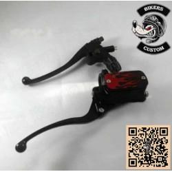 Kit de freinage complet flamme rouge pour custom