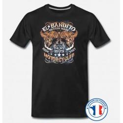 Bikers-Custom : T shirt biker bandito