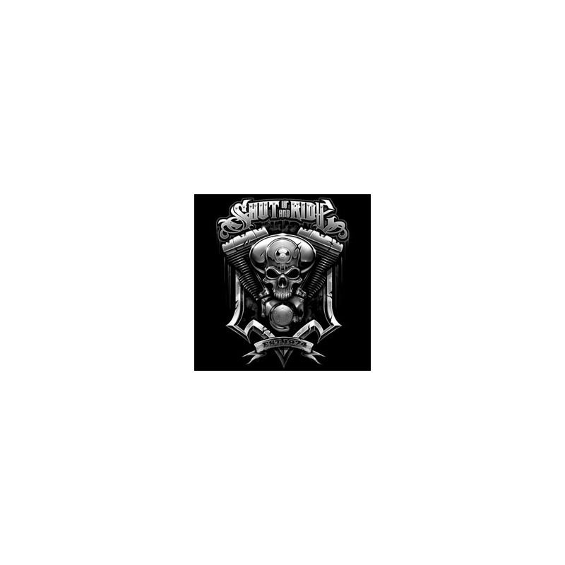 Bikers-Custom : T shirt biker skull filter